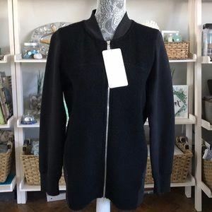 Lululemon Stand Out Sherpa Jacket Black Size 10